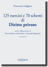125 esercizi e 70 schemi di diritto privato