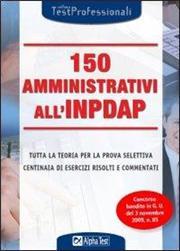 150 amministrativi all'INPDAP