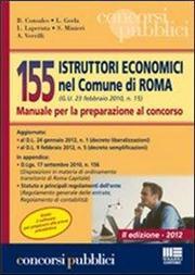 155 istruttori economici nel comune di Roma