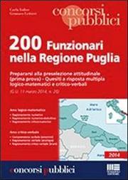 200 funzionari nella Regione Puglia. Prepararsi alla preselezione attitudinale. Prima prova