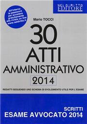 30 atti amministrativo 2014