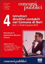 4 istruttori direttivi contabili nel comune di Bari