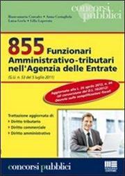 855 Funzionari amministrativo-tributari nell'Agenzia delle Entrate