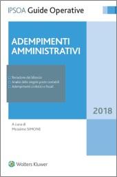 Adempimenti amministrativi