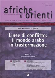 Afriche e Orienti (2013) vol. 1-2. Linee di conflitto: il mondo arabo in trasformazione