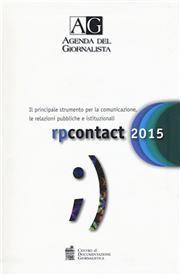 Agenda del giornalista 2015. Rp contact