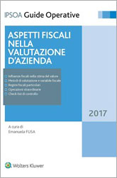 Aspetti fiscali nella valutazione d'azienda