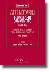 Atti notarili - Formulario Commentato