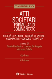 Atti societari - Formulario commentato