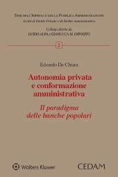 Autonomia privata e conformazione amministrativa