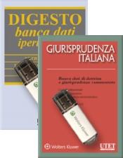 Banche dati UTET Giuridica: DIGESTO + Giurisprudenza italiana - Raccolta dal 1990
