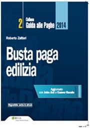 Busta paga - Edilizia 2014