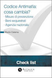 Check List - Codice Antimafia: cosa cambia?