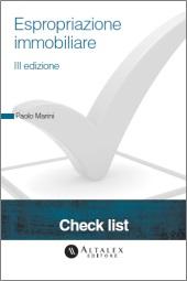 Check List - Espropriazione immobiliare