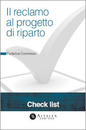 Check List - Il reclamo al progetto di riparto