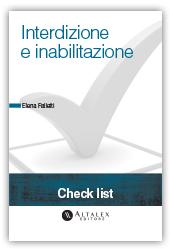 Check List - Interdizione e Inabilitazione