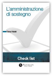Check List - L'amministrazione di sostegno