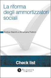 Check List - La Riforma degli ammortizzatori sociali