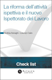Check List - La riforma dell'attività ispettiva e il nuovo Ispettorato del Lavoro