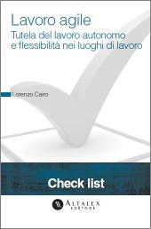 Check List - Lavoro agile