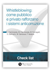 Check List - Whistleblowing: come pubblico e privato rafforzano i sistemi anticorruzione
