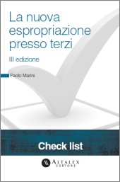 Checklist -  La nuova espropriazione presso terzi