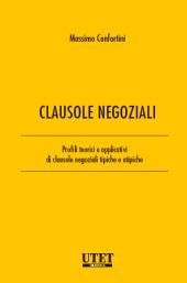 Clausole negoziali - Vol I