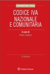 Codice IVA Nazionale e Comunitaria Commentato
