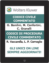 Codice civile commentato e Codice di procedura civile commentato - on line