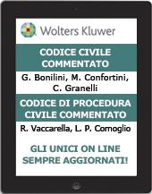 Codice civile commentato e Codice di procedura civile commentato - on line