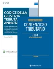 Codice della giustizia tributaria + Commentario Contenzioso tributario