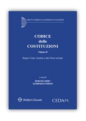 Codice delle Costituzioni - Volume II: Regno Unito, Austria e altri Paesi europei