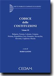 Codice delle costituzioni - Vol. III