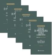 Codice di Procedura Civile  (4 tomi con cofanetto + 4 ebook)