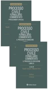 """Collana """"Formulari commentati del processo civile"""" (3 volumi)"""