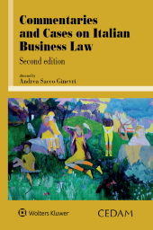 Commentaries and cases on italian business law - Second edition