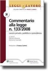 Commentario alla legge n. 133/2008