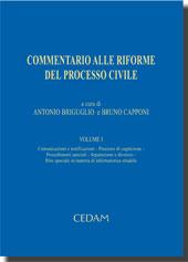 Commentario alle riforme del processo civile. Vol. I: Processo di cognizione, procedimenti speciali, separazione e divorzio