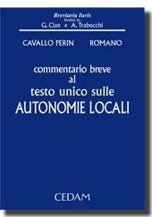 Commentario breve al testo unico sulle autonomie locali
