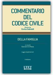 Commentario del Codice civile diretto da Enrico Gabrielli <br> Della Famiglia - Vol. III: Artt. 343-455