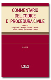 Commentario del Codice di Procedura Civile - Vol. 1 : Artt. 1-98 c.p.c.