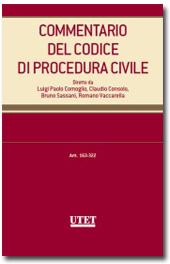 Commentario del Codice di Procedura Civile - Vol. III, Tomo I Artt. 163-274 c.p.c.