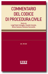 Commentario del Codice di Procedura Civile - Vol. II: Artt. 99-162 c.p.c.