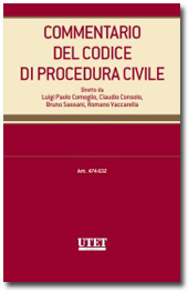 Commentario del Codice di Procedura Civile - Vol. V: Artt. 474-632 c.p.c.