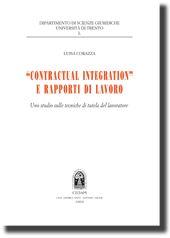 """""""Contractual Integration"""" e rapporti di lavoro."""
