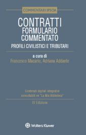 Contratti - Formulario commentato