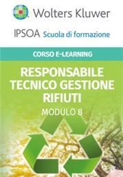 Corso Online Responsabile Tecnico Gestione Rifiuti - Modulo per categoria 8: intermediazione e commercio senza detenzione