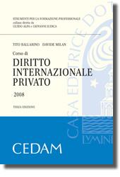 Corso di diritto internazionale privato