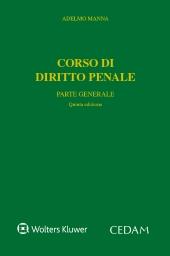Corso di diritto penale - Parte generale
