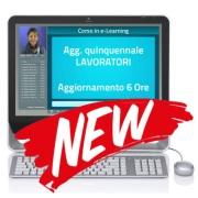 Corso e-Learning - Aggiornamento giuridico Lavoratori - 6 ore